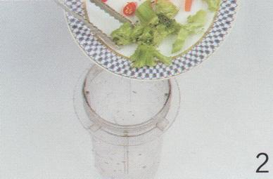 西兰花胡萝卜辣椒汁的做法2