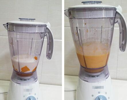 芒果酸奶饮的做法步骤4