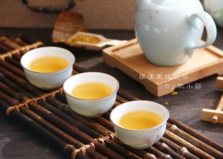罗汉果桂花茶