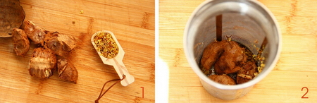 罗汉果桂花茶的做法步骤1-2