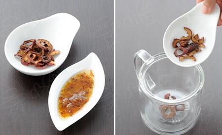 山楂桂花茶的做法步骤1-2