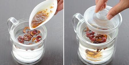 山楂桂花茶的做法步骤3
