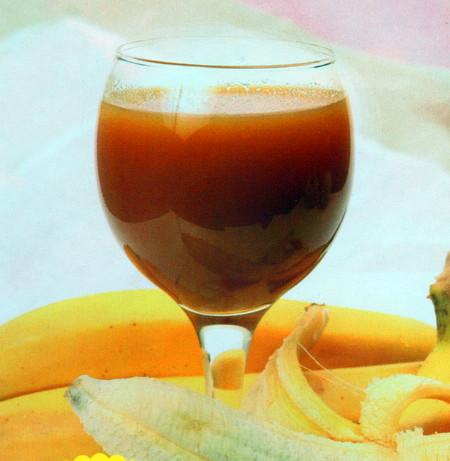 土豆莲藕香蕉汁