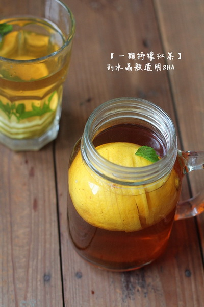 一颗柠檬红茶