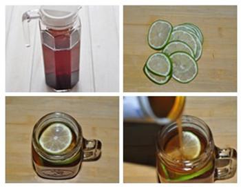 青柠红茶做法步骤1-4
